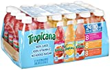 mango peach juice - Tropicana 100% Juice 3-Flavor Fruit Blend Variety Pack, 10 Fl Oz, Bottles, (Pack of 24)