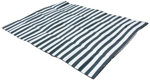 J & M Home Fashions Beach and Picnic Mat with Strap / Handle, 60 by 78-Inch, Thyme