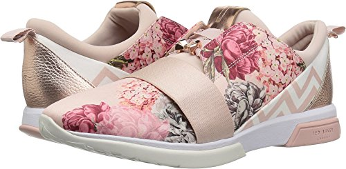 Ted Lace Up Sneakers (Ted Baker Women's Cepap Palace Gardens Textile 9 M US)