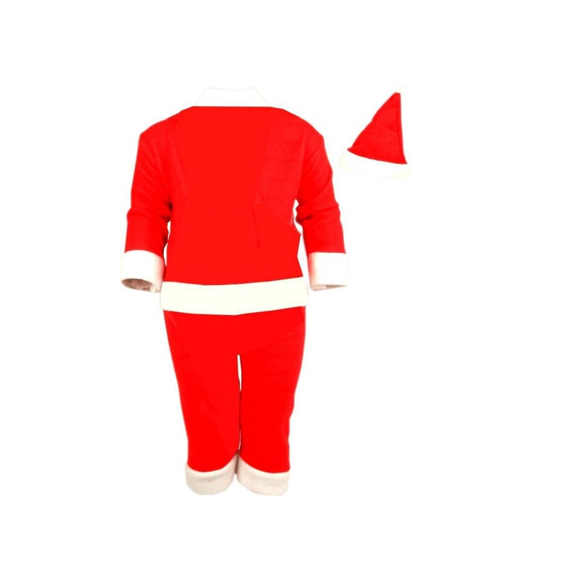 3863af8ff Buy Mobison Santa Claus Costume for Kids (0-6 Months) Online at Low Prices  in India - Amazon.in