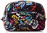 Vera Bradley Iconic Medium Cosmetic, Signature Cotton, Butterfly Flutter