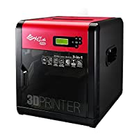 XYZprinting da Vinci 1.0 Pro 3in1 Impresora /Escáner inalámbrica en 3D 7.8''x7.8''x7.5 '', Cama calefactada, Grabador láser actualizable, Filamentos de terceros