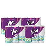Health & Personal Care : Viva Signature Designs Paper Towels. 3 Count (Pack of 8). Designs may vary.