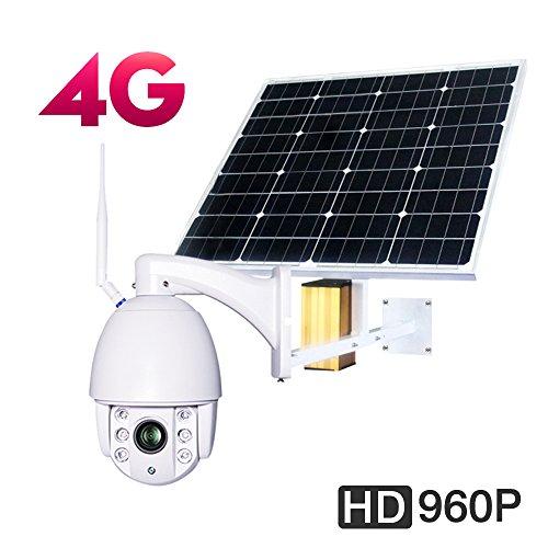 Galleon - 3G 4G WIFI PTZ DOME CAMERA Photovoltaic Solar