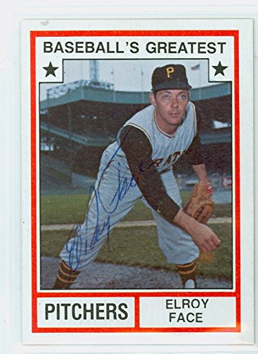 Roy Face AUTOGRAPH TCMA Baseball's Greatest Pitchers Pittsburgh Pirates ()