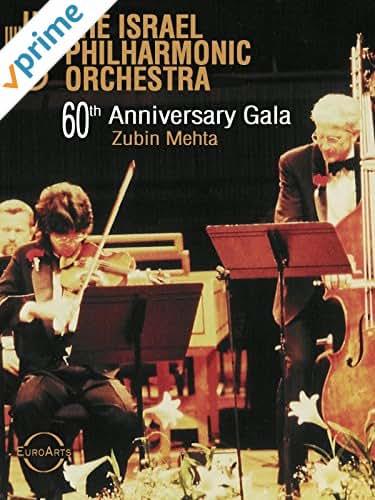 The Israel Philharmonic Orchestra 60th Anniversary Gala