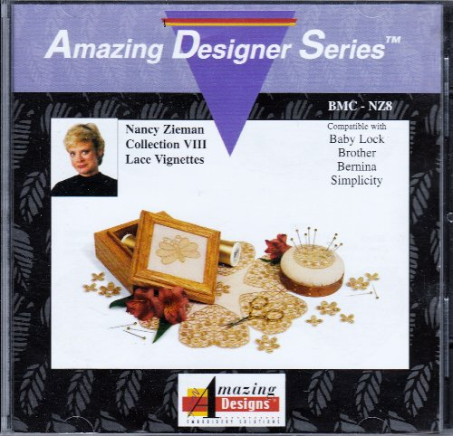 Lace Vignettes: Nancy Zieman Collection VIII