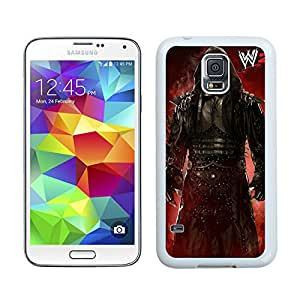 Wwe Superstars Collection Wwe 2k15 The Undertaker 14 White Individual Custom Samsung Galaxy S5 I9600 Case