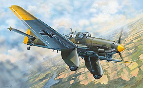 Trumpeter Junkers Ju-87A Stuka German Dive Bomber Model Kit (1/32 Scale)