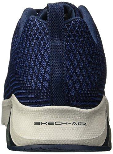 Men's Sneaker Sport Air Skech Varsity Skechers Black Navy BSvZq5wxw