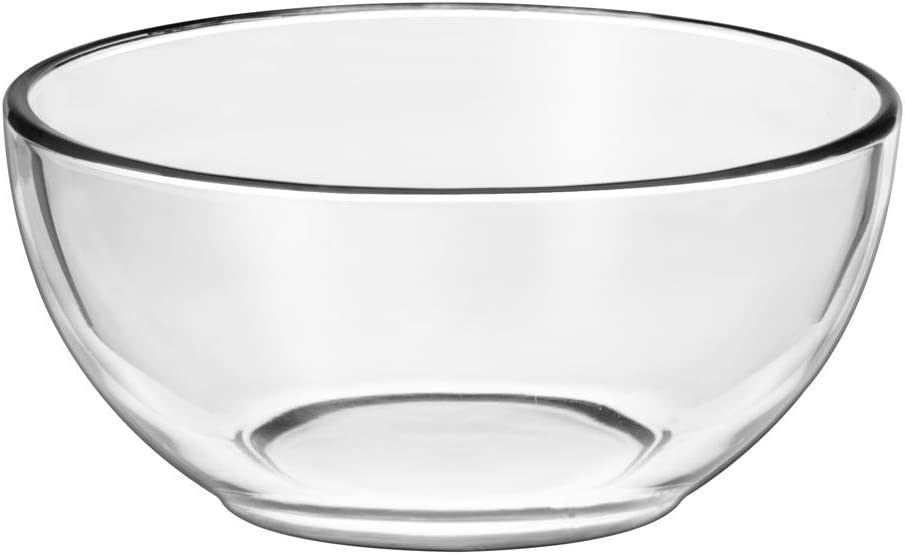 Libbey Moderno Glass Cereal Bowl In Clear 12 Piece Set Soup Bowls Cereal Bowls