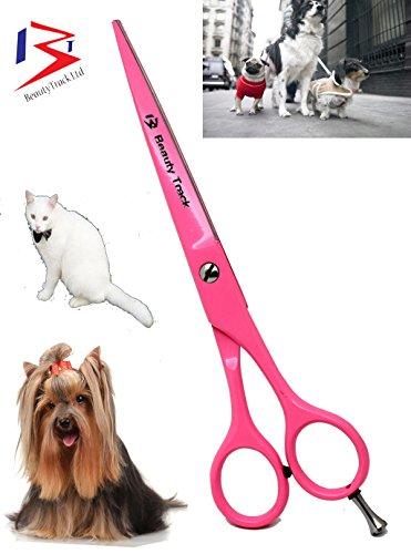 Tijeras de peluquería profesionales extra largo 7 Peluquería Tijeras -incomparable Color Rosa apta para de gatos y… 6