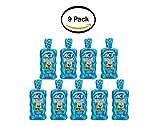 PACK OF 9 - ACT Kids SpongeBob Ocean Berry Anticavity Fluoride Rinse, 16.9 oz