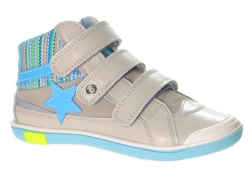 Bartek Girls Leather Sneakers Ankle Boots Grey 64197 Little Kid//Big Kid