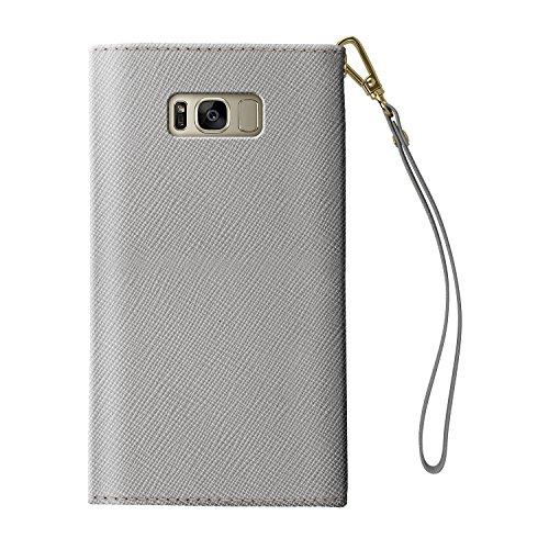Clutch Clair Galaxy S8 Of en pour Portefeuille Gris Plus Mayfair Gris Sweden Samsung iDeal Clair qtyRnF6R