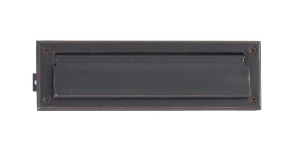 BRASS Accents A07-M0010-613VB 13'' Mail Slot, Venetian Bronze Finish by BRASS Accents