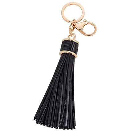 Tassel Alloy Keychain Keyring Charm Pendant Purse Bag Key Ring Chain Gifts New