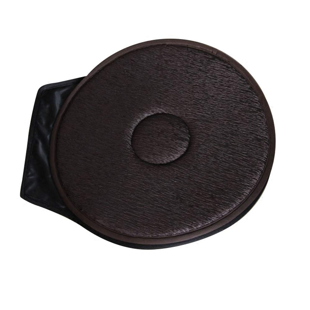 Portable Memory Foam Auto Swivel Anti-Slip Seat Disc Fit Car Vehicle Sport Seat Space Easy Movement to Enter//Exit Dbtxwd 360/° Rotating Seat Cushion