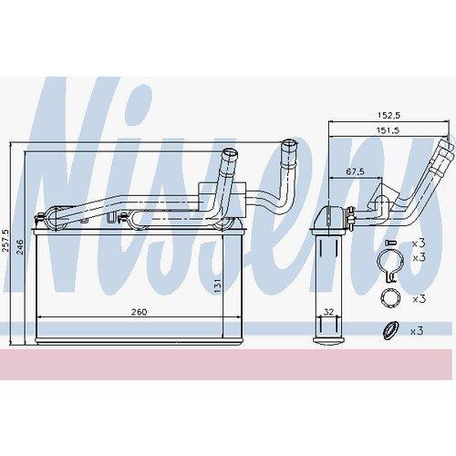 NISSENS 70529 Heating Nissens A/S