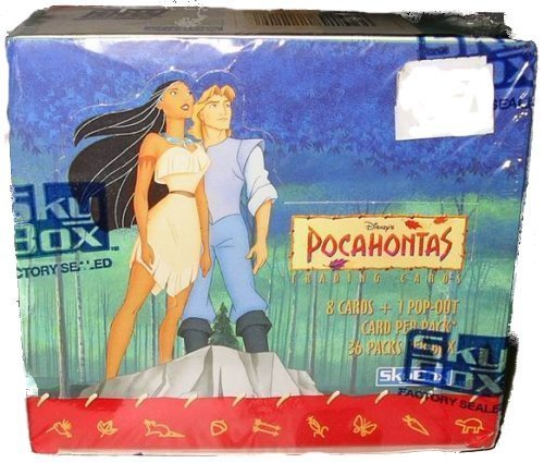 Pocahontas Trading cards 36 packs Factory Sealed by Disney -  Skybox, 43204-22444