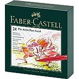 Faber-Castel Pitt Artist Brush Pens (24 Pack), Multicolor