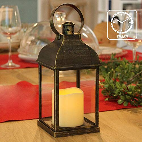 Decorative Lanterns with Timer Flameless Candle Using Battery for 10