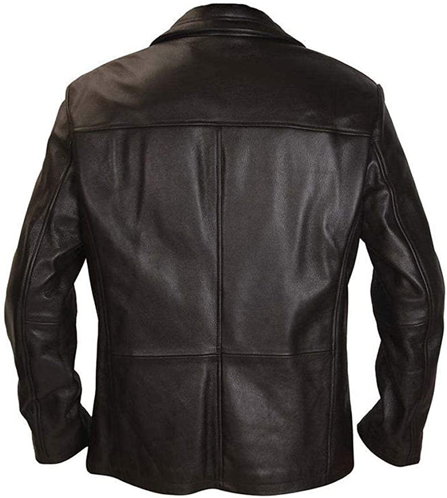 Stormwise Mens Fashion Bauer Real Leather Jacket