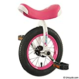 Tini Uni - 12'' Unicycle Pink