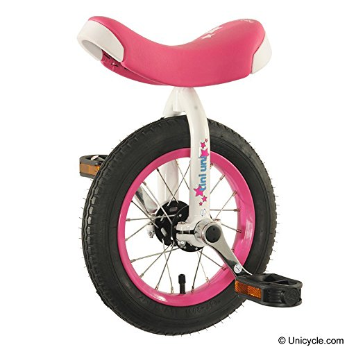 "Tini Uni - 12"" Unicycle Pink"