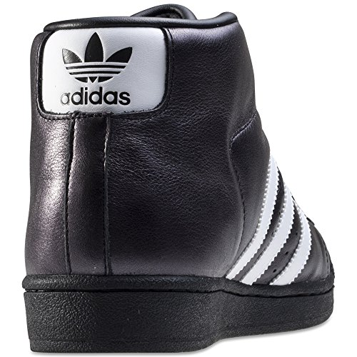 adidas Promodel, Sneaker Basse Uomo Nero/Bianco