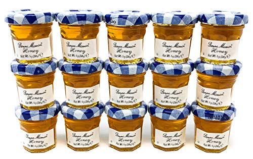Bonne Maman Honey Mini Jars - 1 oz x 15 pcs Kosher