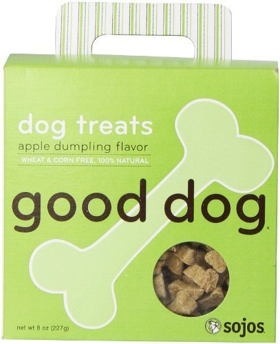 Sojos Good Dog Apple Dumpling Dog Treats (Dumpling Dog)