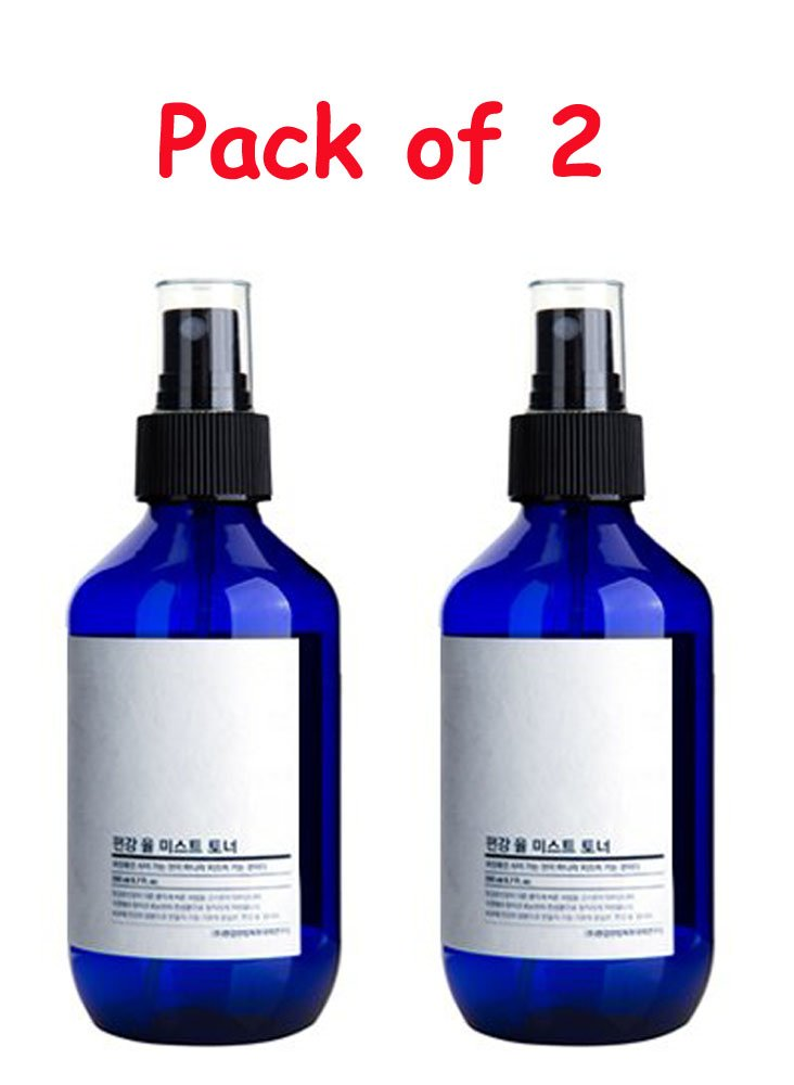 [Pack of Two] Pyunkang Yul Mist Toner 3.3 ounces with Eyebrow Razor