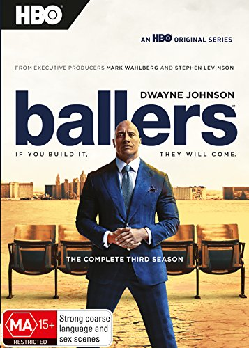 Ballers: Season 3 | Dwayne 'The Rock' Johnson | NON-USA Format | PAL | Region 4 Import - Australia