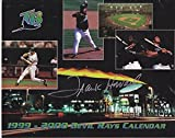 Frank Howard Signed - Autographed 1999-2000 Tampa Bay Devil Rays Calendar - Guaranteed to pass or JSA - PSA/DNA Certified