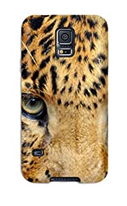 New Premium ZippyDoritEduard Leopard Skin Case Cover Excellent Fitted For Galaxy S5