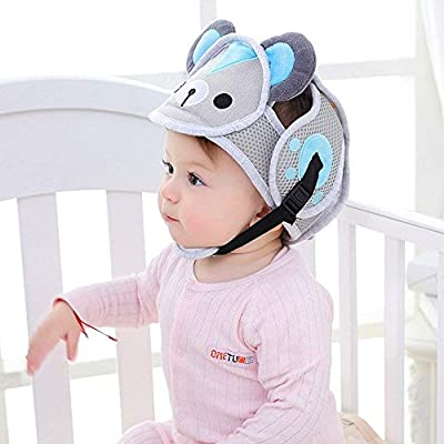 Infant Helmet - Baby Safety Helmet,Infant Protective Safety Hat, Adjustable Infant Headguard Toddler Head Protector Breathable Helmet for Toddlers Learn to Walk