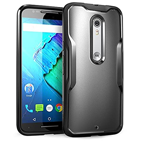 Moto X Pure Edition Case, SUPCASE Unicorn Beetle Series Premium Hybrid Protective Bumper Case for Motorola Moto X Style / Pure Edition (2015 Release) (Motorola X Clear Cover)