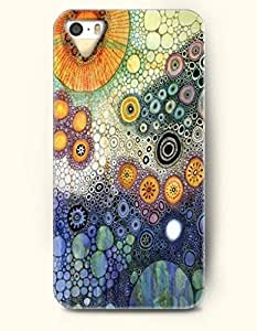 SevenArc Phone Cover Apple iPhone case for iPhone 4 4s -- Colorful Ground in Deep Sea