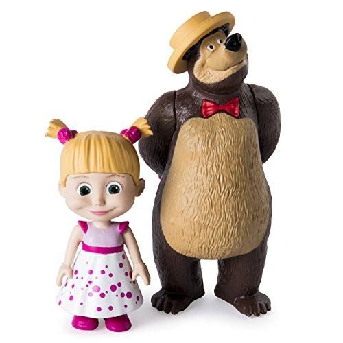 Masha and the Bear – Birthday Masha and the Bear Figures by Masha and the Bear
