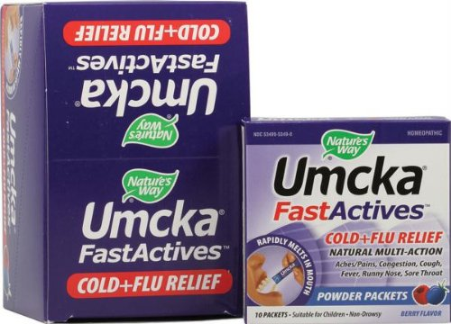 Nature's WAY Umcka Fast Act C&f Berry 10 Ct [Health and Beauty]