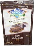 Blue Diamond Almonds, Oven Roasted Almonds, Dark Chocolate, 14 Ounce