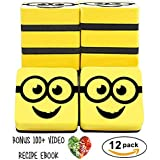 Best Magnetic Whiteboard Erasers, 12 Pack, 5cm Erasers, Ideal for Classrooms, Offices, Home, Teachers, Children. 100+ Video Recipes Ebook. 100% Satisfaction Guarantee