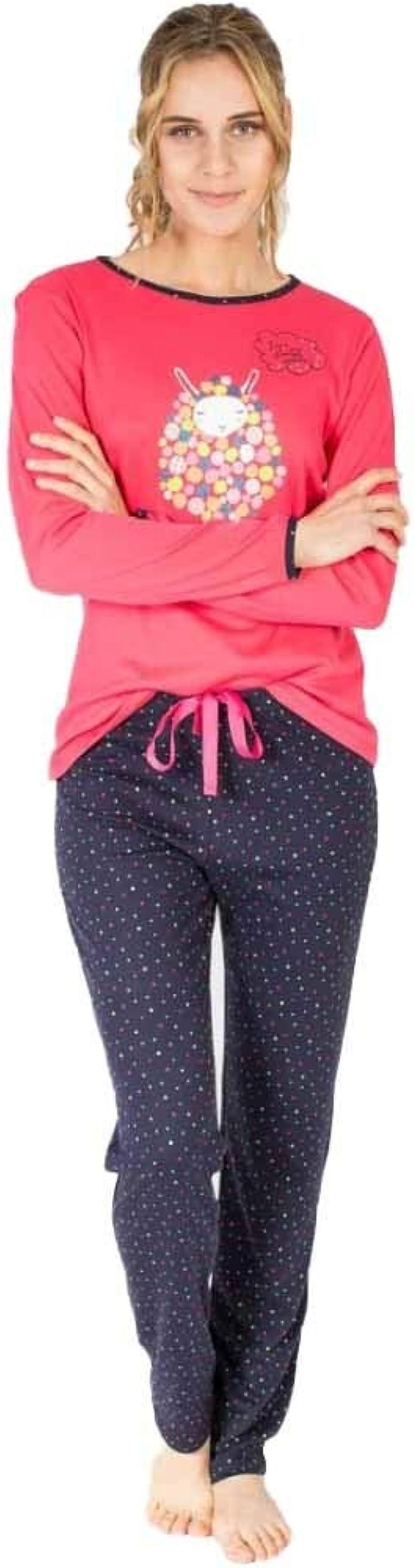Massana Pijama de Mujer de algodón P681218