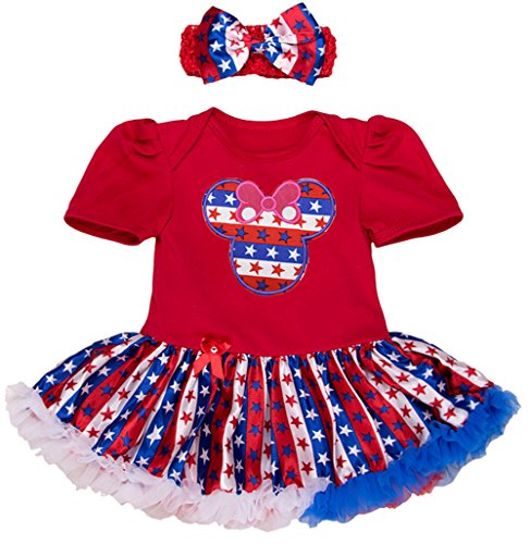 4th of july dress toddler - 5