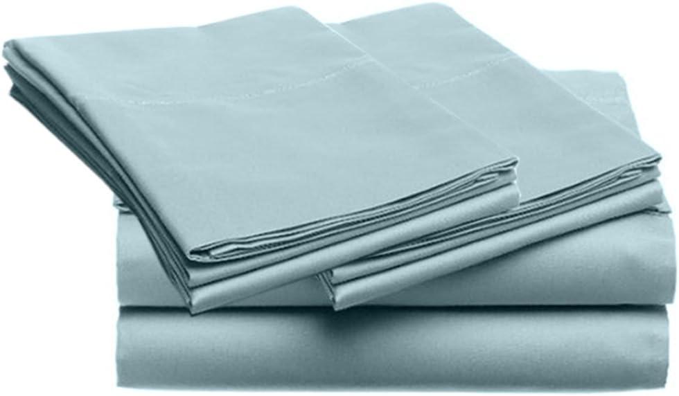 SUPER SOFT Microfiber Loft 21 Collection, KING 4pc Sheet Set, 2-LOF21S-309, Solid BLUE