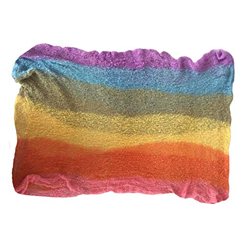 Rainbow Newborn Stretch Wrap Baby Photography Blanket Props Posing Picture Photo Shoot -