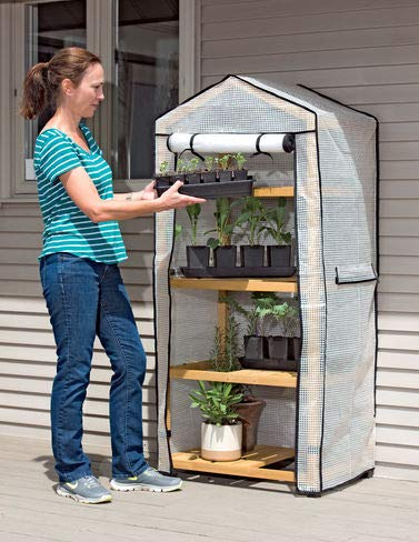 Gardener's Supply Company Vegtrug Patio Greenhouse