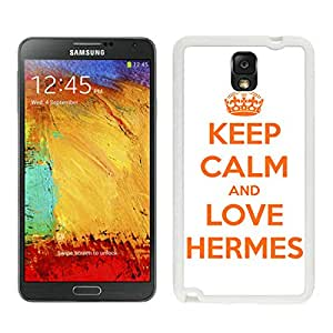 New Antiskid Designed Cover Case For Samsung Galaxy Note 3 N900A N900V N900P N900T With Hermes 13 White Phone Case