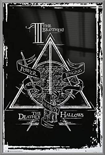 Black Poster Hanger Harry Potter and The Deathly Hallows by POSTER STOP ONLINE Movie Poster//Print Size: 24 x 36 Part 2 Regular Style